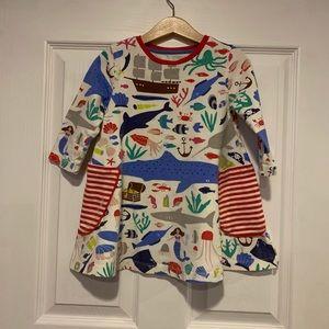 Mini Boden Sea Print Tunic